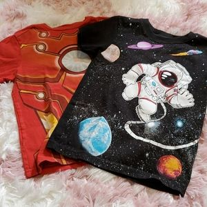 Other - Iron Man and Astronaut Shirts